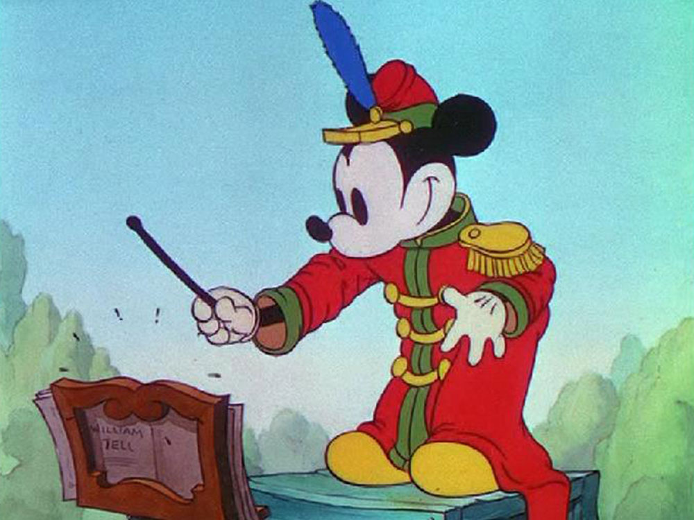 Image fanfare band concert mickey disney