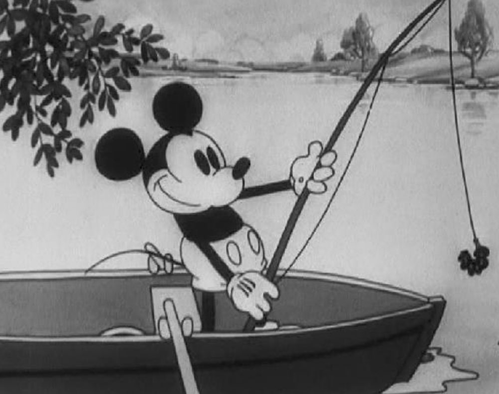 Image fishin around mickey disney