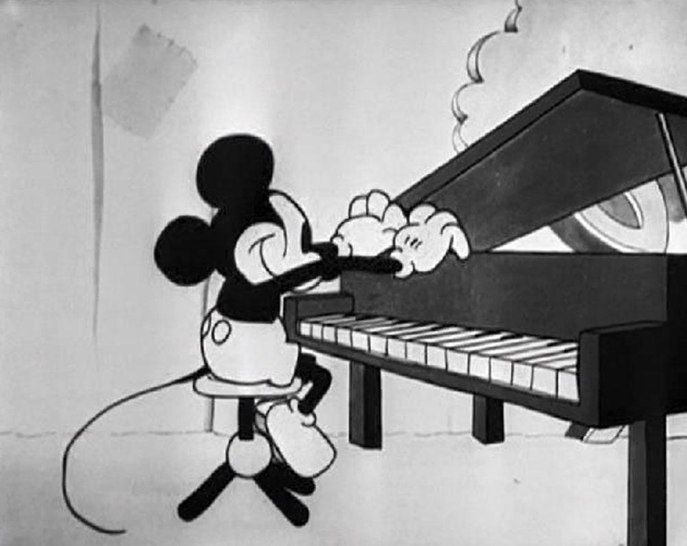 Image fou jazz fool disney mickey