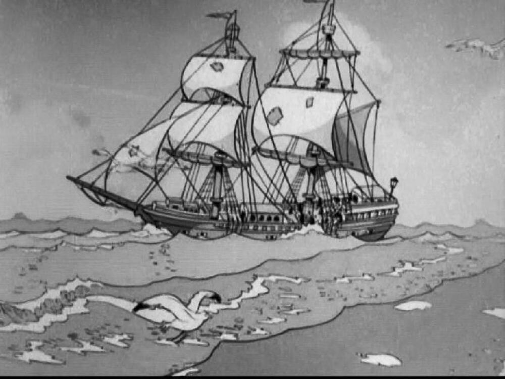 Image marin malgré lui shanghaied mickey disney