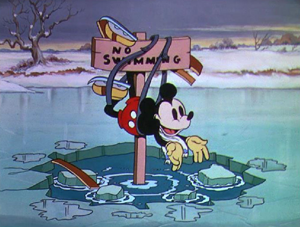 Image mickey on ice patine disney