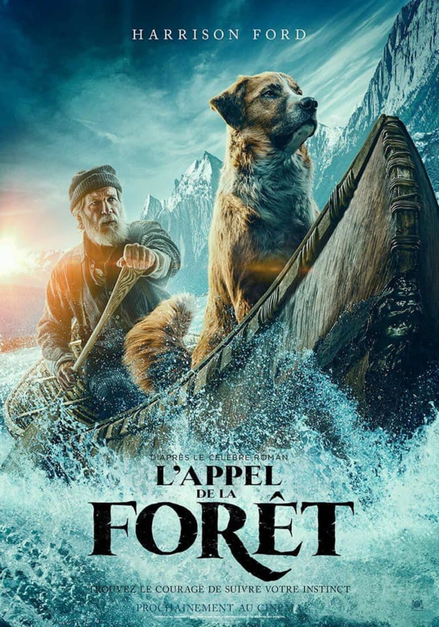 Affiche Poster appel forêt call wild disney fox