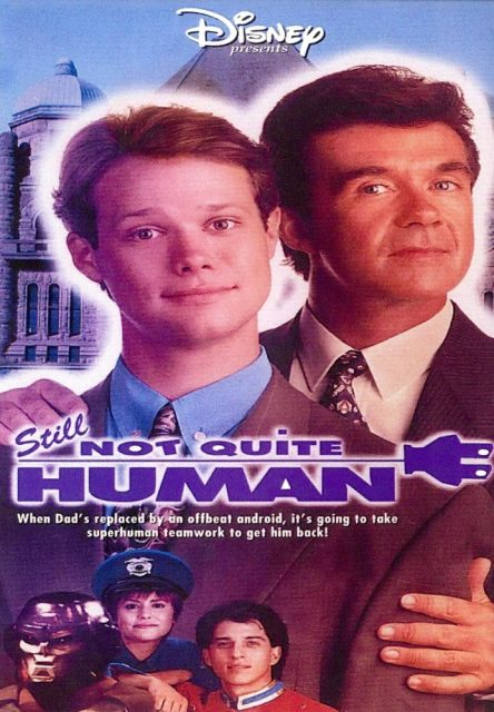 Affiche Poster electronic junior 3 still quite human disney channel