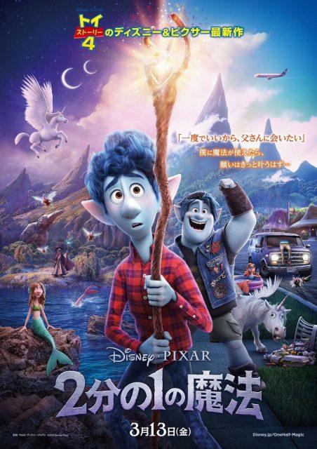 Affiche poster pixar avant onward disney