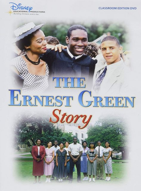 Affiche poster ernest green story disney channel