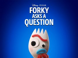 Affiche poster forky asks question disney + pixar