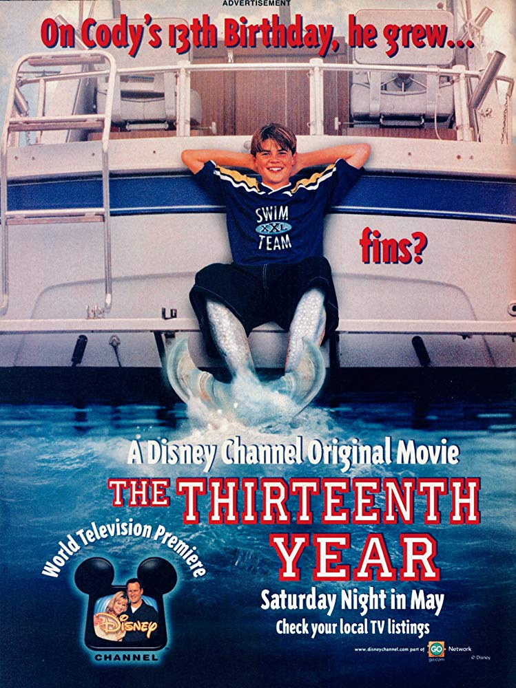 Affiche Poster garçon venait mer thirteen year disney channel