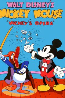 Affiche Poster grand opera mickey disney