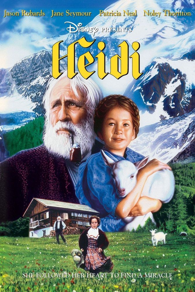 Affiche Poster heidi disney channel