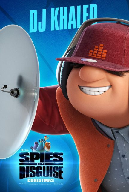 Affiche Poster incognitos spies disguise disney blue sky