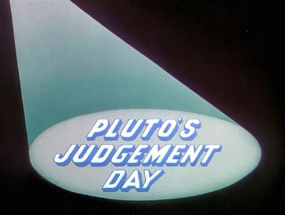 Affiche Poster jour day jugement judgment pluto disney