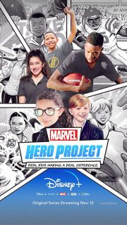 Affiche Poster marvel hero project disney+