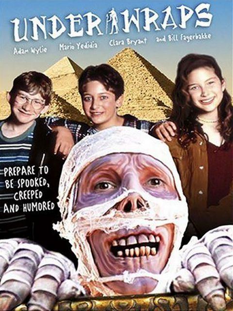 Affiche poster momie halloween under wraps disney channel