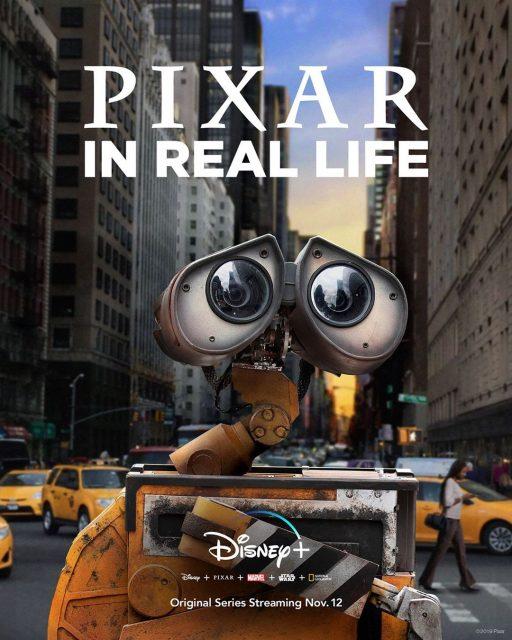 Affiche poster pixar real live disney +