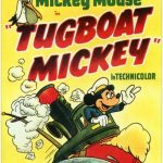 Affiche Poster remorqueur mickey tugboat disney