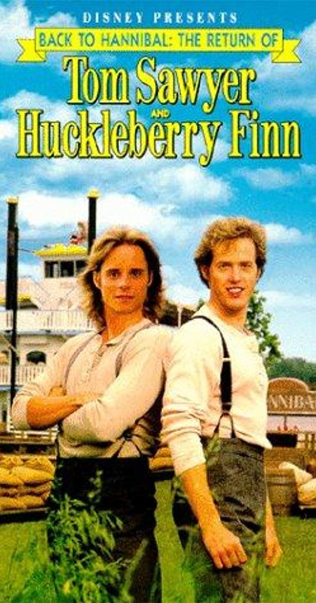 Affiche Poster retour deTom Sawyer huckleberry Finn back hannibal return disney channel