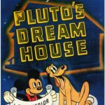 Affiche Poster pluto dream house disney mickey