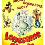 Affiche Poster revenants solitaires lonesome ghosts mickey