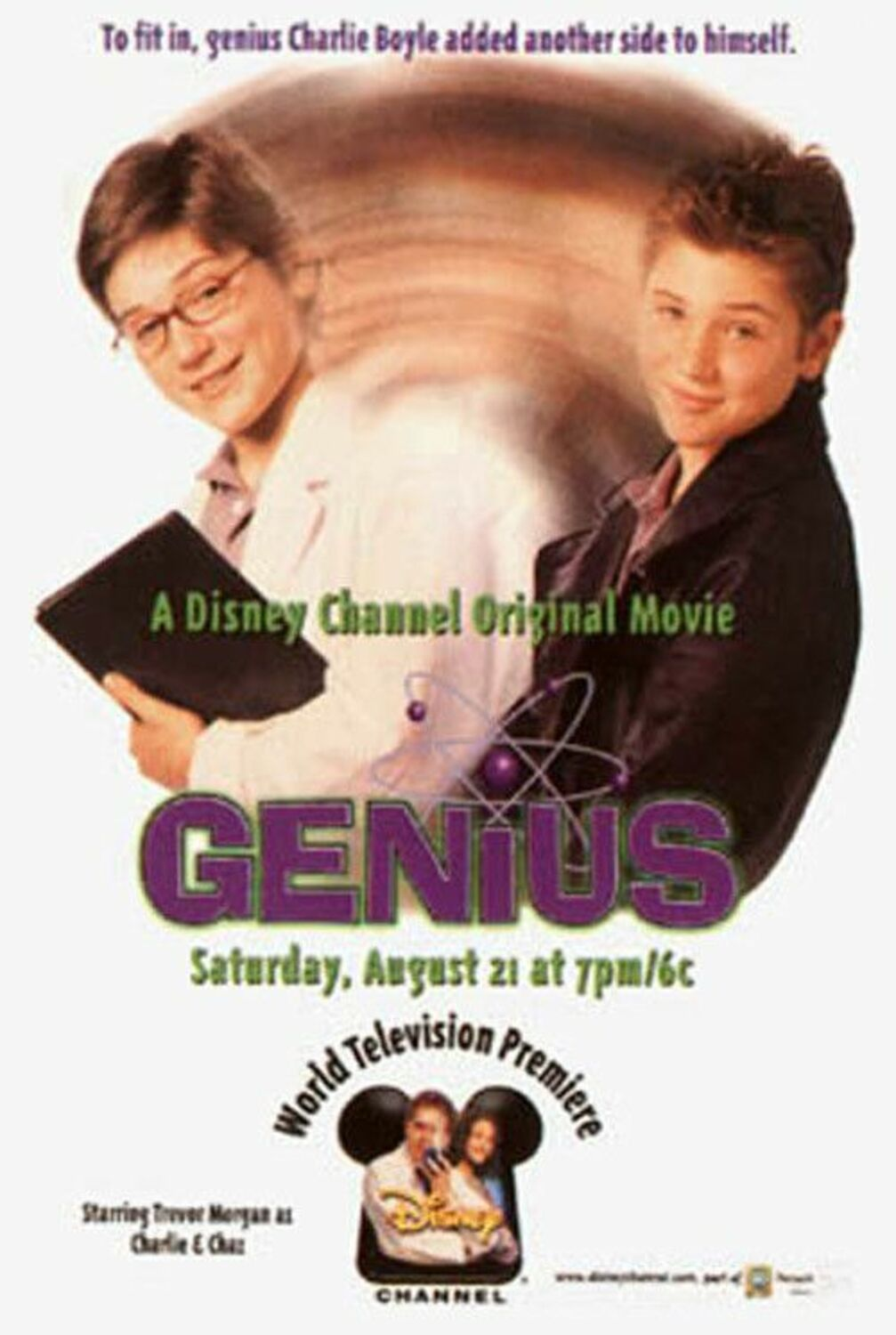 Affiche Poster savant herbe genius disney channel