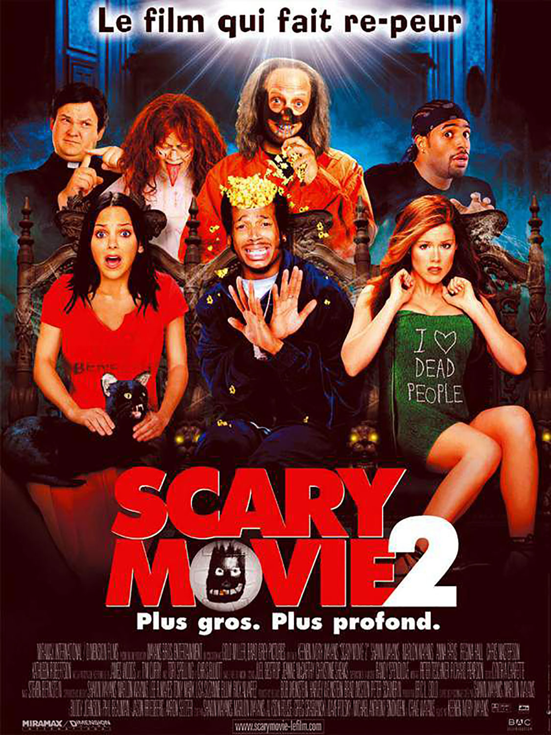 Affiche Poster scary movie 2 disney dimension
