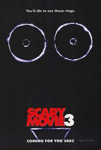 Affiche Poster scary movie 3 disney dimension