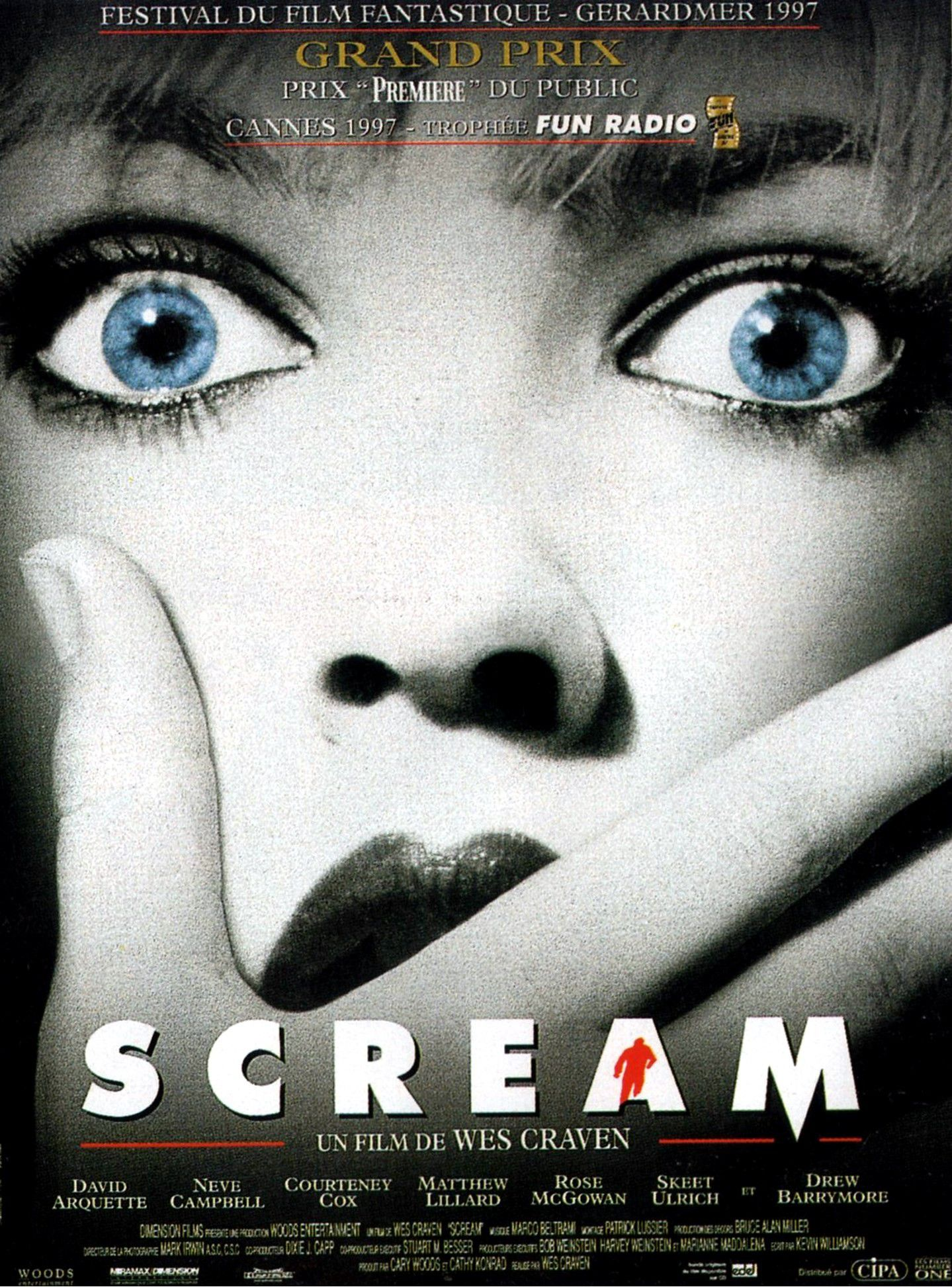 Affiche poster scream disney dimension