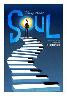 Affiche Poster soul disney pixar