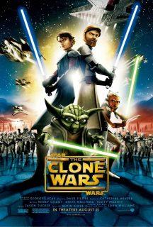 Affiche poster star wars clone disney lucasfilm