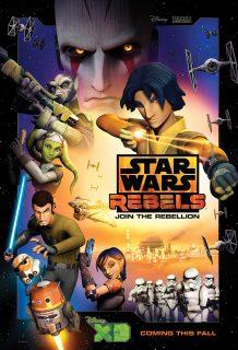 Affiche Poster star wars rebels disney lucasfilm