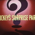 Affiche Poster surprise partie party mickey disney