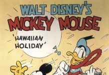 Affiche Poster vacances hawai hawaiian holiday disney mickey