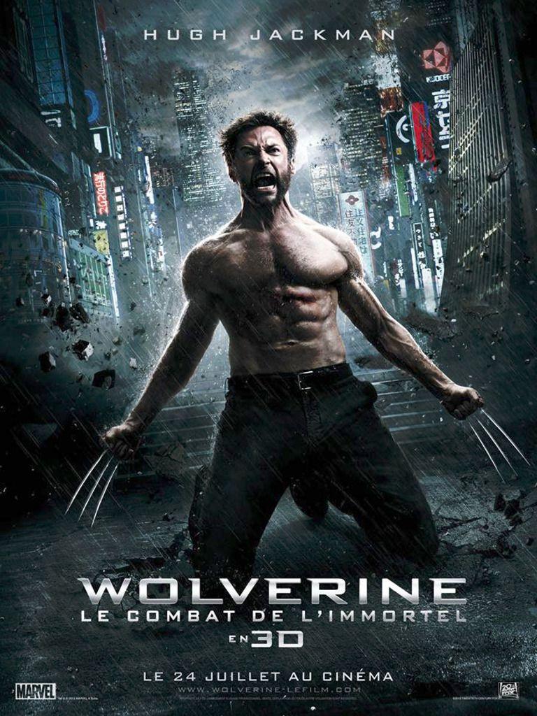 Affiche Poster wolverine combat immortel disney fox marvel