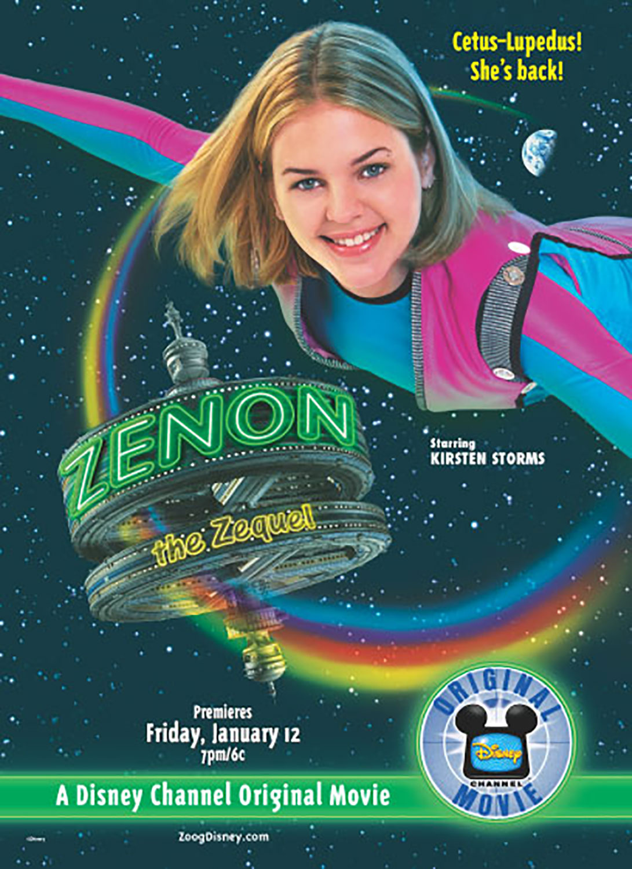 Affiche Poster zenon alien zequel disney channel