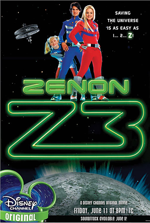 Affiche Poster zenon deesse lune z3 disney channel