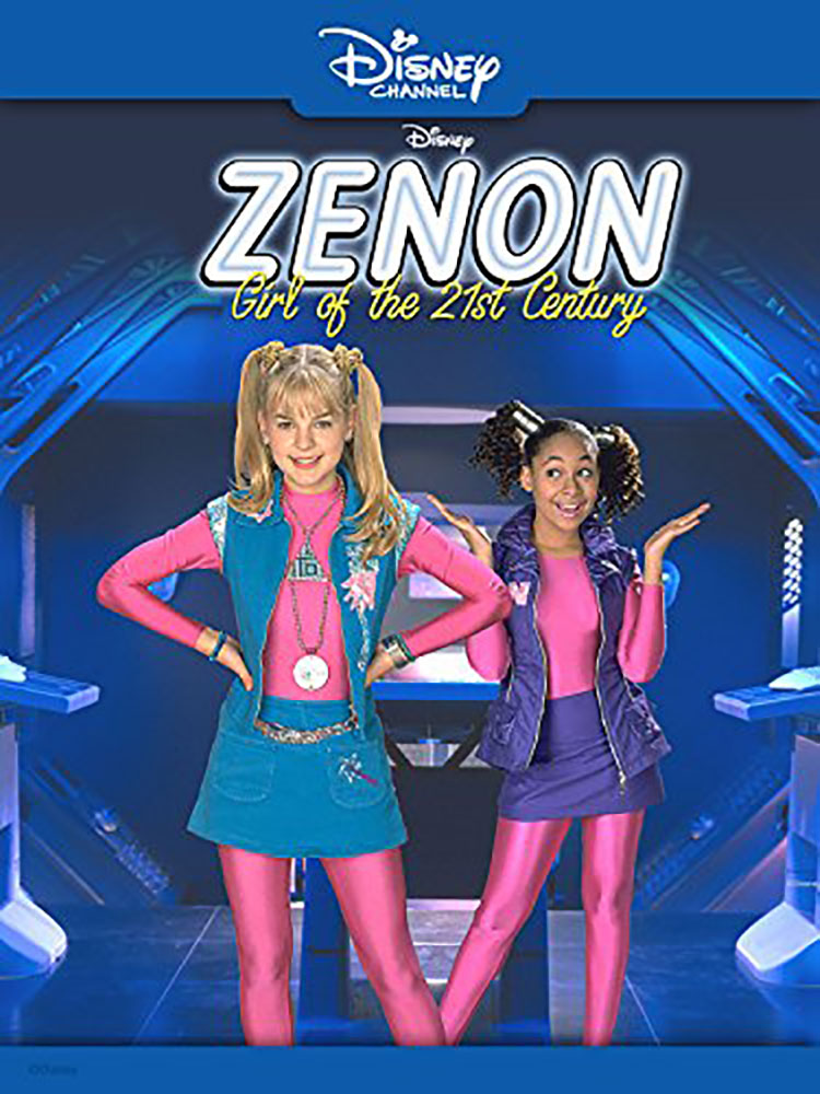 Affiche Poster zenon fille girl siecle century disney channel