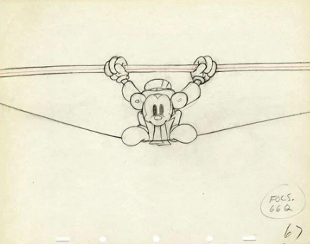 Artwork cirque circus mickey disney