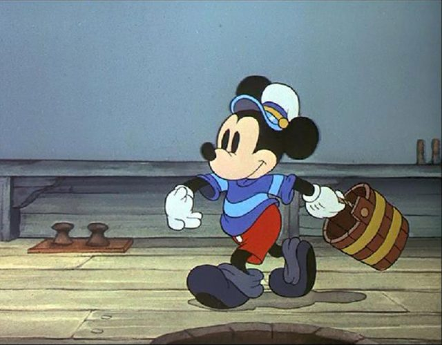 Image chasseurs baleines whalers mickey disney