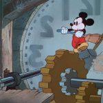 Image nettoyeurs pendules clock cleaners mickey
