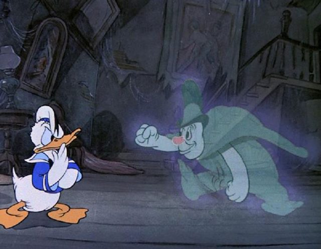 Image revenants solitaires lonesome ghosts mickey