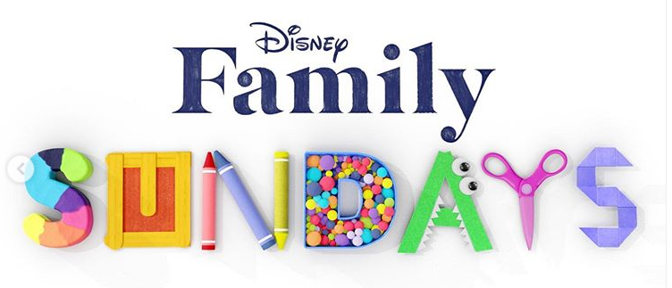 logo disney family sundays +