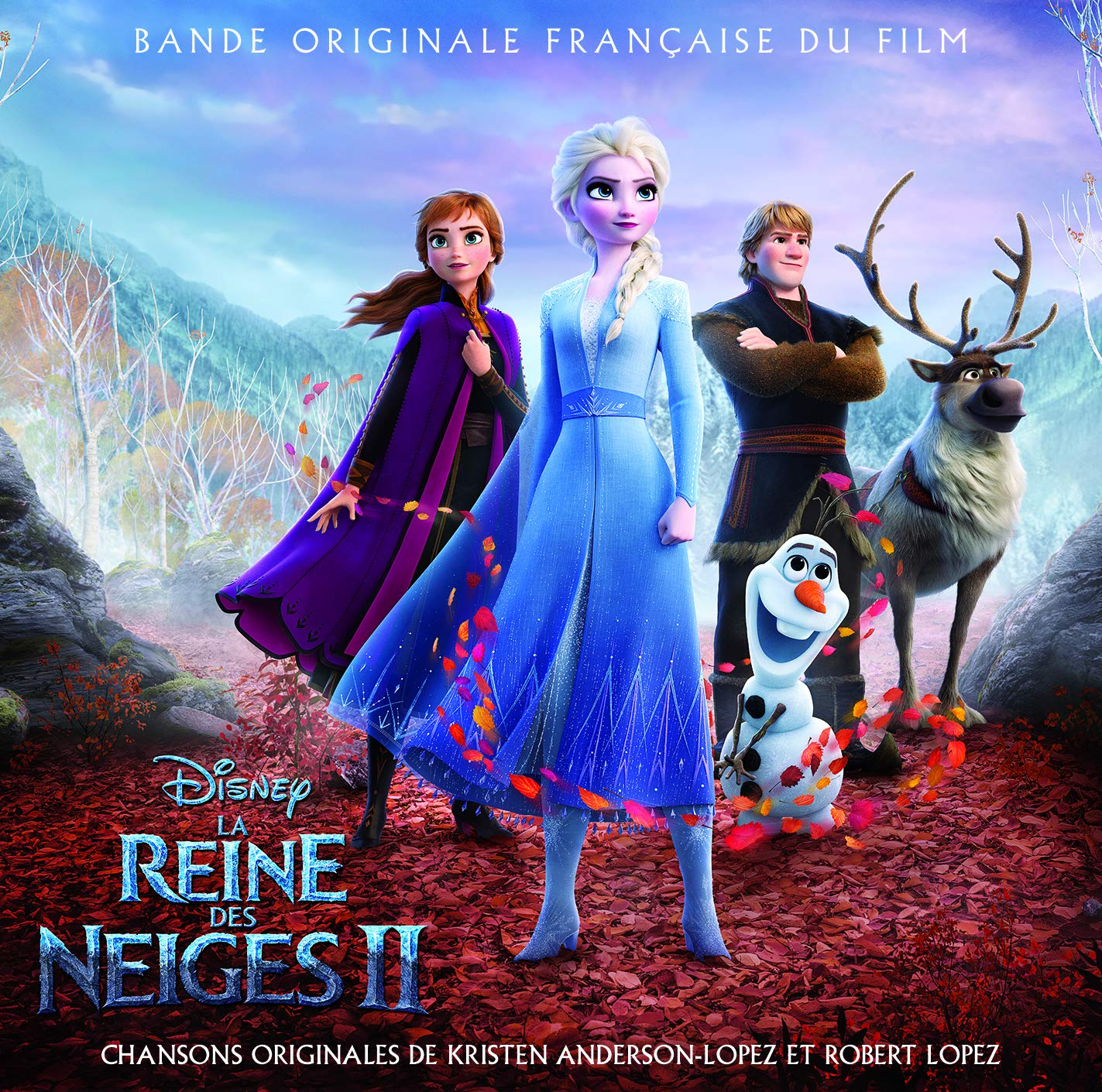 bande originale soundtrack ost score reine neiges 2 frozen disney