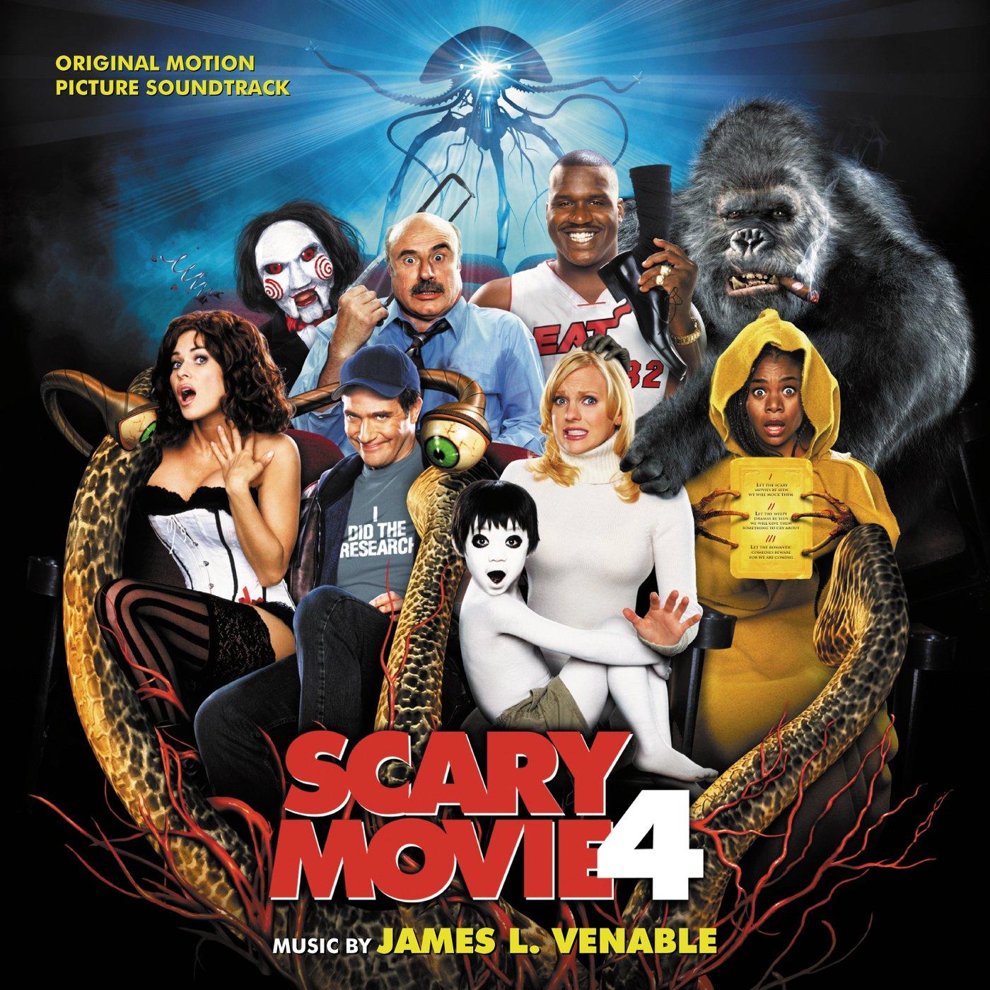 bande originale soundtrack ost score scary movie 4 disney dimension