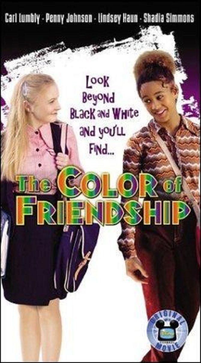 Affiche poster couleur amitié color friendship disney channel