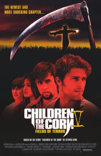 Affiche poster démon maïs 5 secte damné children corn field terror disney dimension