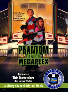 Affiche poster fantôme cinéma phantom megaplex disney channel