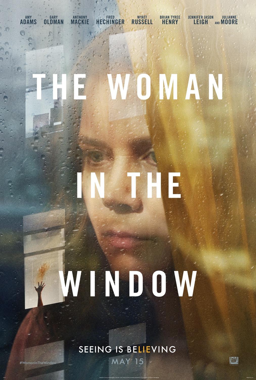 Affiche Poster femme fenêtre woman window disney fox