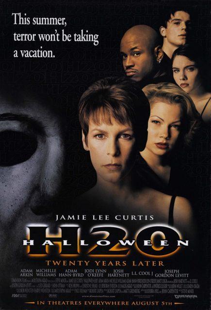 affiche poster halloween 20 ans après h20 disney dimension