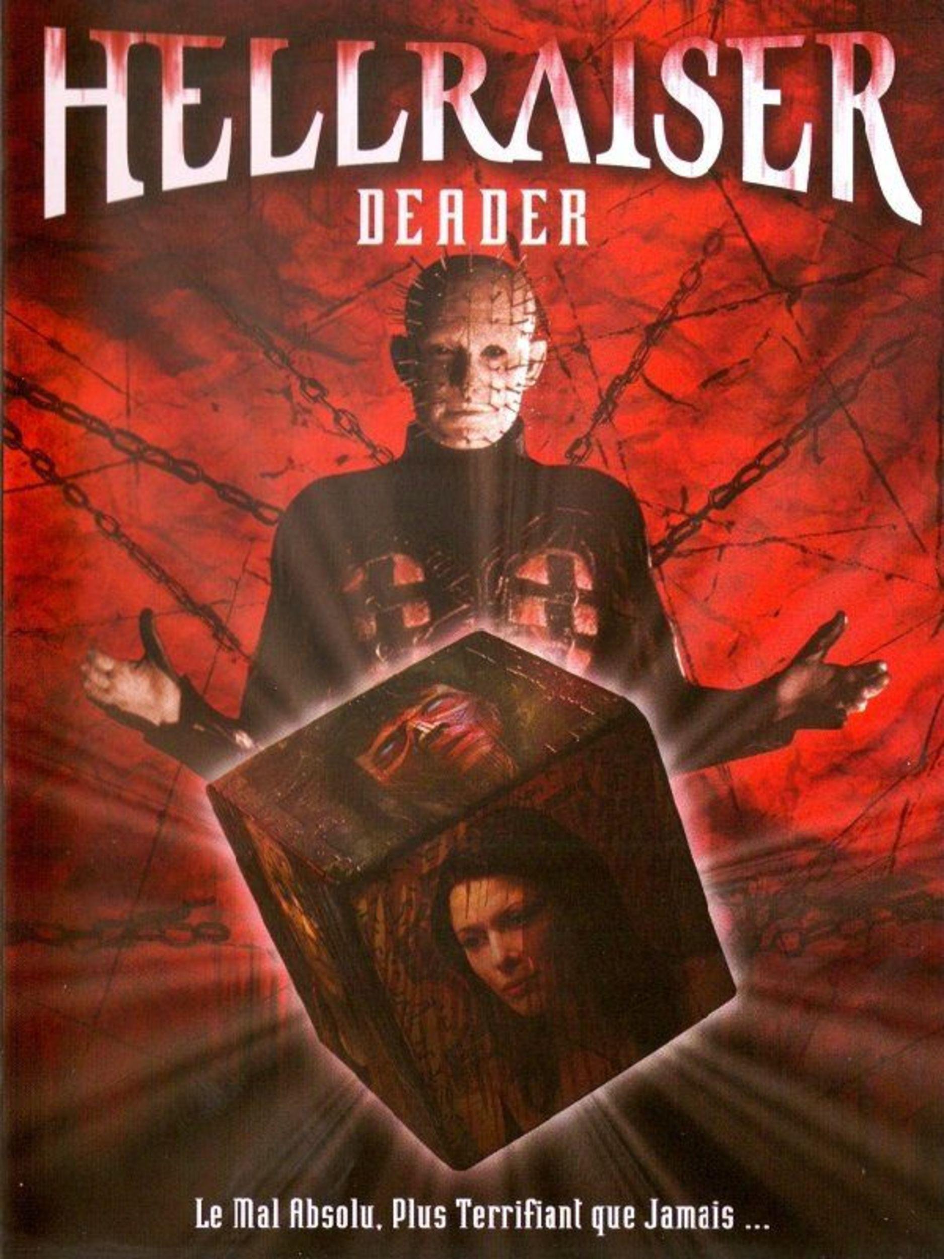 Affiche Poster hellraiser deader disney dimension