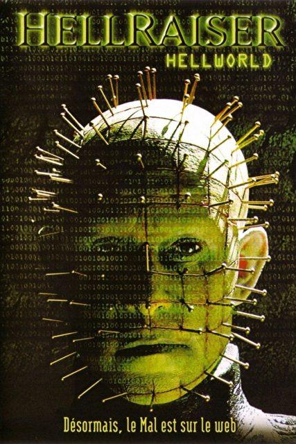 Affiche Poster hellraiser hellworld disney dimension