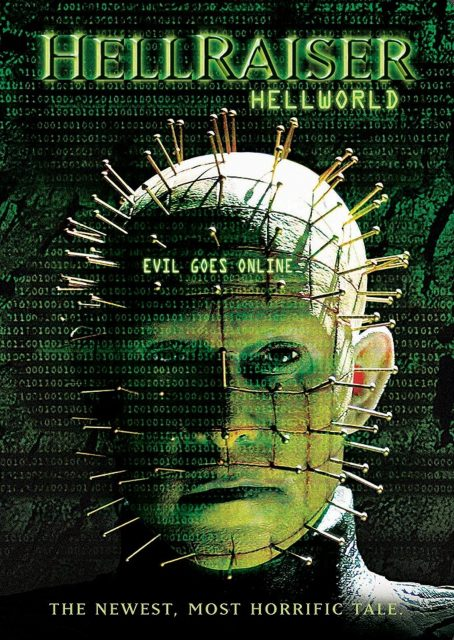 Affiche Poster hellraiser hellworld disney dimension